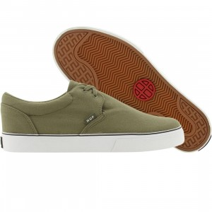 HUF Genuine (olive / white)