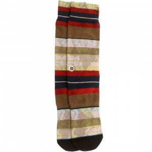 Stance Men Maui Socks (red)