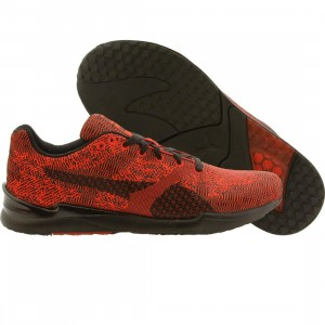 Puma Men XS 500 Swift Woven Mesh (red / high risk / black)