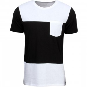 Tavik Men Parallax Tee (white / black)