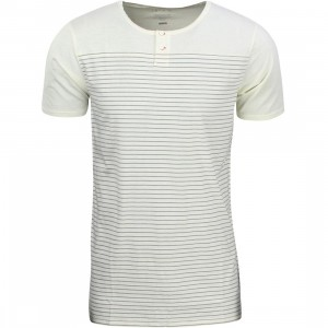Tavik Men Cooper Jersey Tee (white / bone)