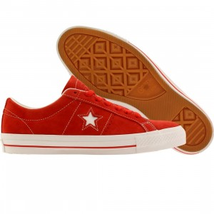 Converse Men One Star Skate Ox (red / white)