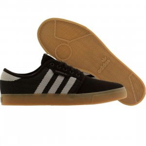 Adidas Skate Men Seeley Woven (black / running white / gum)