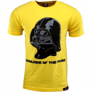 Sneaktip Darkside of the Fours Tee (yellow)