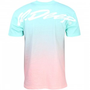 10 Deep Men S15 Fade Away Tee (teal)