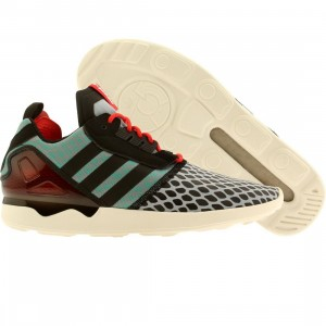 Adidas Men ZX 8000 Boost (black / teal / red)