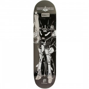 BAIT x Robotech x Finesse Metallic Skateboard Deck (black)
