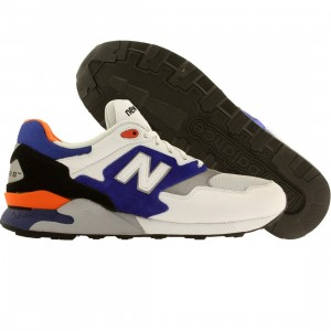 New Balance Men 878 90s Running (white / blue)
