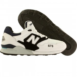 New Balance Men 878 90s Running (white / black)