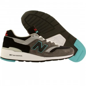 New Balance Men M997CGB Rockabilly - Made In USA (gray / black)