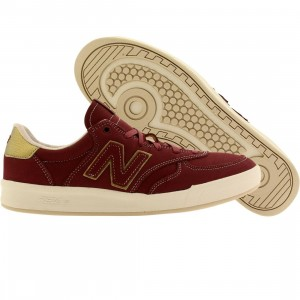 New Balance Men 300 Classics Court (red / garnet / white)