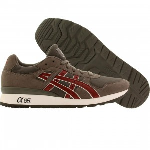 Asics Tiger Men GT-II (gray / burgundy)