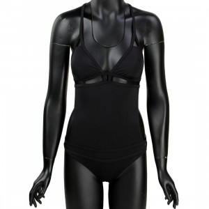 RVCA Women Afterglow One Piece Swimsuit (black)