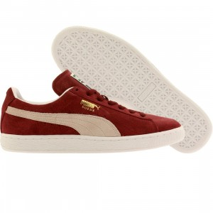 Puma Men Suede Classic Plus (burgundy / cabernet / white)