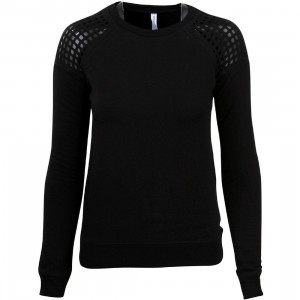 RVCA Women Grid Locked Sweater (black)
