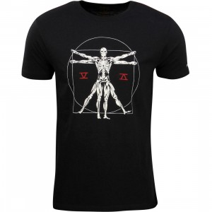 RVCA Men Vitruvian Phantom Tee (black)