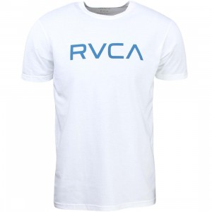 RVCA Men Big Rvca Tee (white)