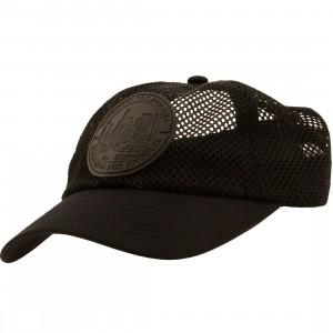 Dimepiece Women Dimepiece Seal Elastic Adjustable Cap (black)