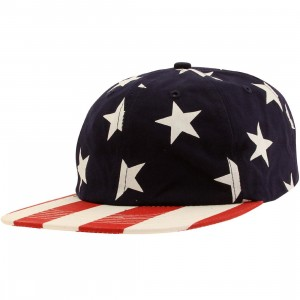10 Deep Local Native Snapback Cap (navy)