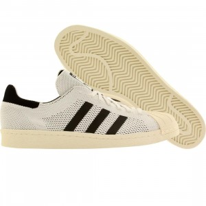 Adidas Men Superstar 80s Primeknit (white / core black / gold met)