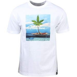 Primitive Men Paradise Tee (white)