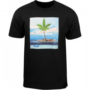 Primitive Men Paradise Tee (black)