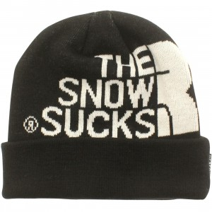 Reason Snow Sucks Beanie (black)