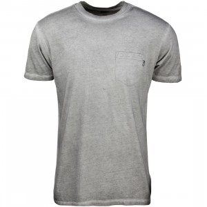 HUF Men Grease Pocket Tee (grey)