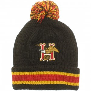 HUF Domestic Pom Beanie (black)