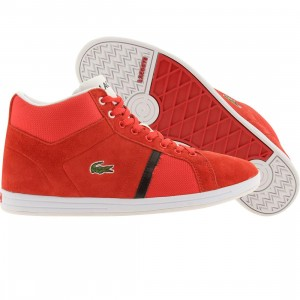 Lacoste Convect Mid (red / white)