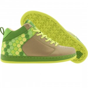 JB Classics Peddler Mids 3M Hex-Plated (brushed gold / green apple / electric green)