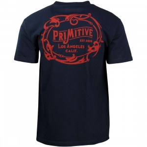 Primitive Men Wrangler Tee (navy)