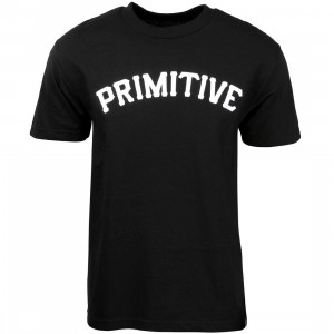 Primitive Men Slab 08 Tee (black)