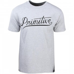 Primitive Men Murray Tee (gray / athletic heather)