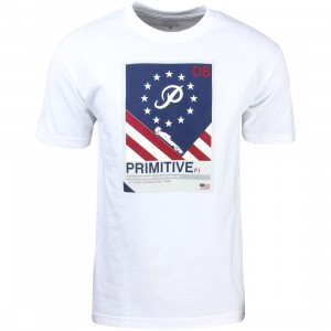 Primitive Men Formula Tee (white)