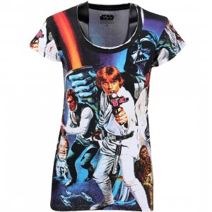 Eleven Paris x Star Wars Women Stawa All Over Print Tee (black / print)