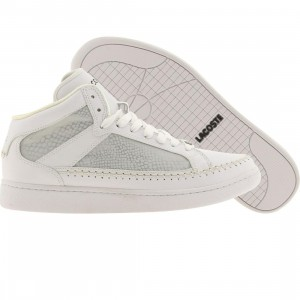 Lacoste Stealth Revan 3 High S Croc (white / silver)