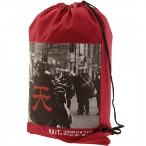 BAIT x Street Fighter Akuma SDCC Exclusive Sachet Bag (burgundy)