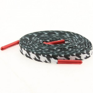 Starks Laces - Houndstooth Black