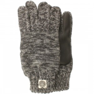 Obey Boulder Gloves (gray / heather charcoal)
