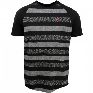 Staple Men Nightshade Stripe Tee (gray)