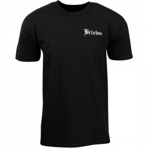 Brixton Men Whittier Tee (black)