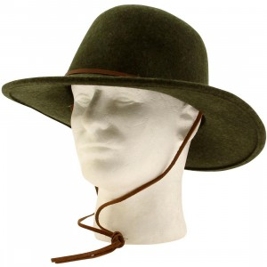 Brixton Tiller Hat (green / heather)