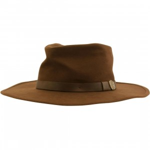 Brixton Thorpe Fedora Hat (brown)