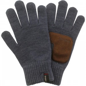 Brixton Butcher Gloves (blue / denim)