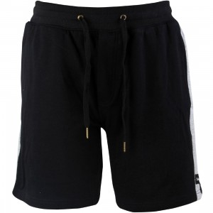 Barney Cools Men Weekend 18 Shorts (black / melange)