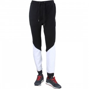 Zanerobe Men Montage Tracker Jogger Pants (black / white)