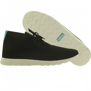 Native Men Apollo Chukka (black / shell white)