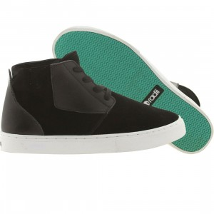Radii Hampton (black suede)