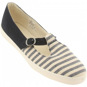 Pointer Womens Heidi (navy / natural stripe)